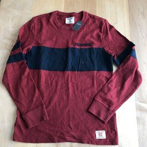 NWT Abercrombie and Fitch Long Sleeve Tee Shirt S